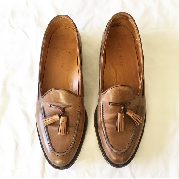 63e838a5315 Cole Haan Other - Cole Haan Leather Pinch Grand Tassel Loafers